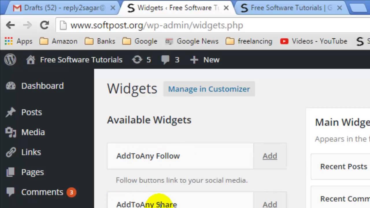 changing size of menu in wordpress
