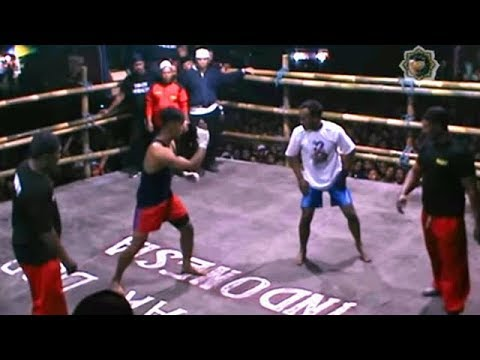 Pencak Dor Di Kedawung || JOHNY HUNTER KALAH TELAK VS AGUNG NJABANG |RAME ||