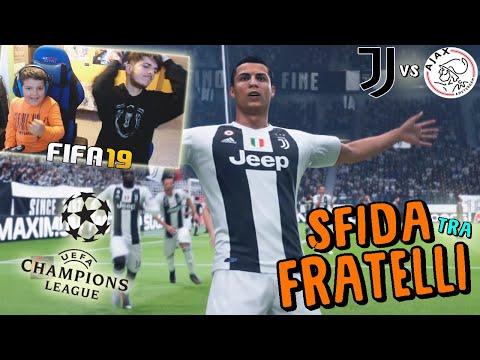JUVENTUS vs AJAX - QUARTI DI FINALE CHAMPIONS LEAGUE! - Fifa 19
