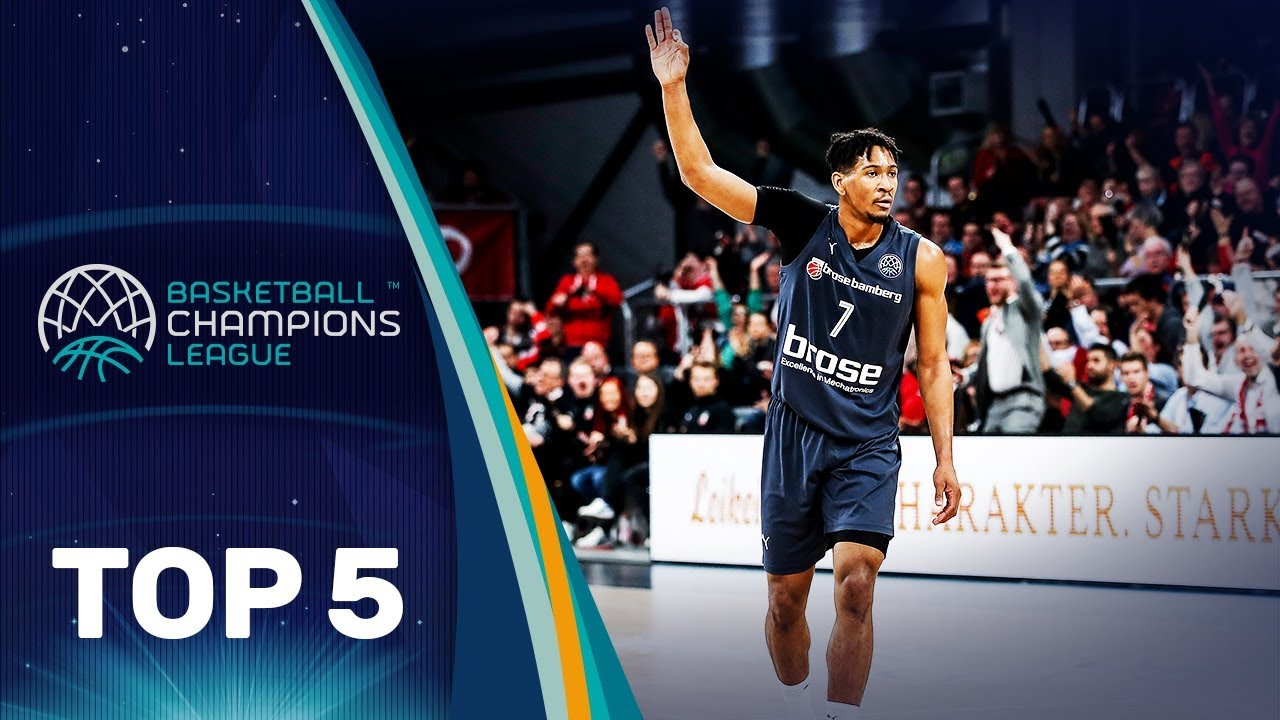 Top 5 Plays | Wednesday - Gameday 10 | Basketball Champions League 2019