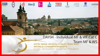 Repeat youtube video IWAS WHEELCHAIR FENCING WORLD CHAMPIONSHIPS DAY04 - Piste Red