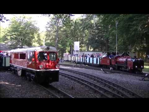 90 Jahre Liliputlokomotiven - Parkbahn Dresden + Bonus (13.09.2015)