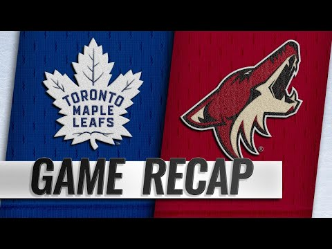 Galchenyuk, Archibald lead Coyotes past Leafs, 2-0