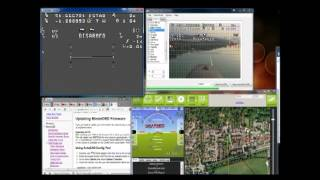 How to set up the minim OSD software and demo