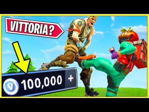 TI DO *8.000 V-BUCKS* : Ha 1300 VITTORIE - Una SFIDA IMPOSSIBILE Su Fortnite