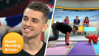Olympic Gold Medalist Max Whitlock and Baby Willow Show off Their Skills | Good Morning Britain