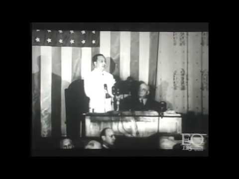 Speech of President Elpidio Quirino in the United States Congress