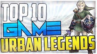 Top 10: Video Game Urban Legends! - Top Ten Video Game Myths