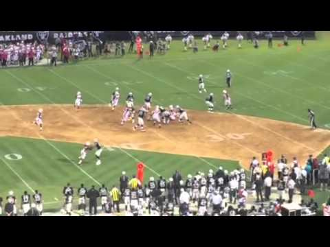 Oakland Raiders Run Game Stalled By Arizona Cardinals #AZvOAK