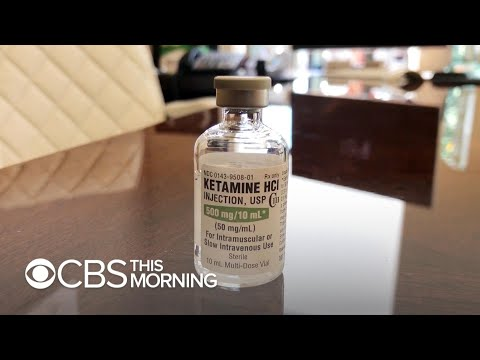 Ketamine nasal spray could be used to treat depression