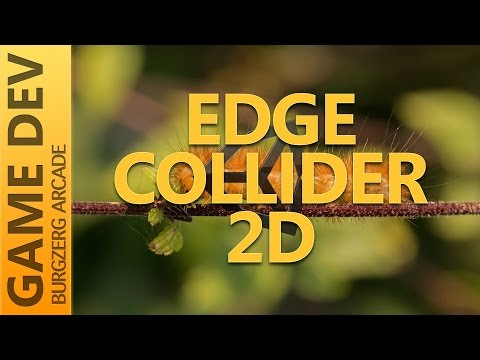Edge Collider 2D - 2D Game Development With Unity - YouTube