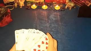 Для Дамына Себя на Ближайшее будущее на Игральных картах