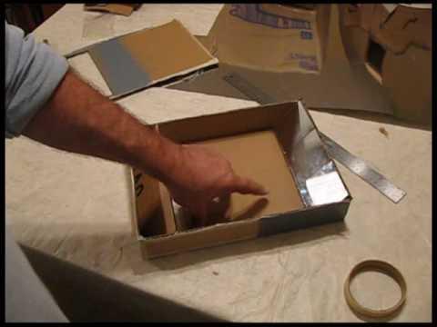How do you make a shoebox periscope