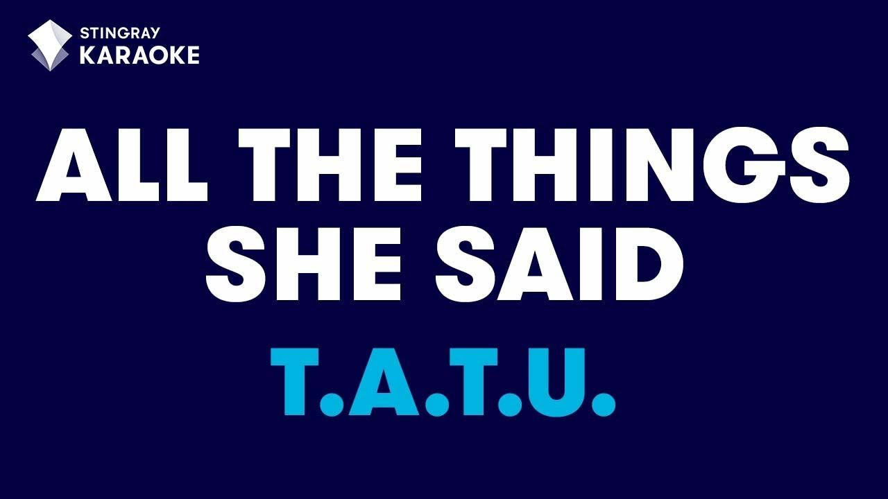Simple Minds - All The Things She Said Lyrics | MetroLyrics