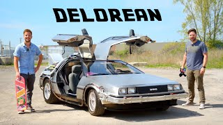 DeLorean Time Machine Review // Driving The Movie Legend YouTube Videos