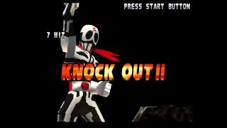 Street Fighter EX 2 Plus (PlayStation) Arcade as Skullomania