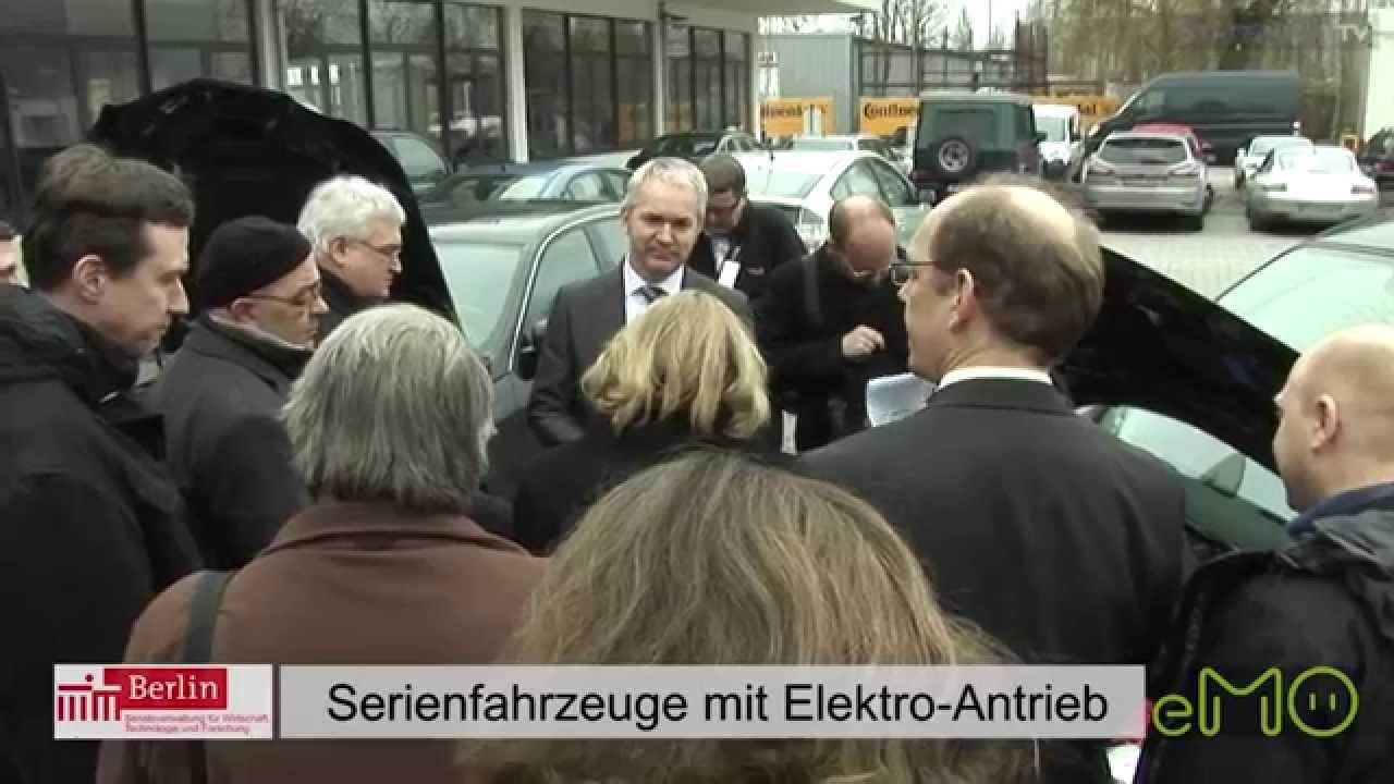 Emobility Tour Durch Berlin Mit Senatorin Cornelia Yzer Youtube