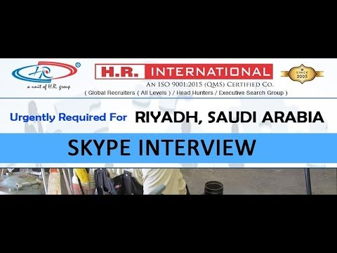 Urgently Required Of Pipe Fitter and Rig Operator For Riyadh, Saudi Arabia