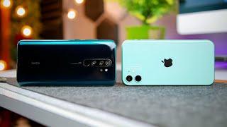 Redmi Note 8 Pro vs iPhone 11 Detailed Camera Comparison