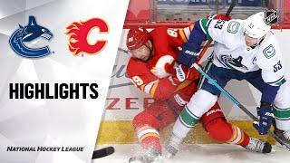 NHL Highlights | Canucks @ Flames 1/18/21