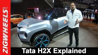 Exclusive: Tata H2X Concept Explained By Pratap Bose – VP Global Design, TML | ZigWheels.com