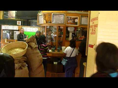 Cafe El Jarocho Coffee, Mexico City Part 1