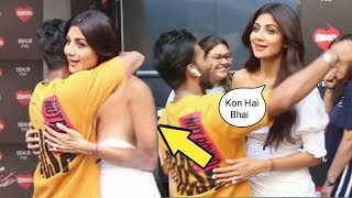 Shilpa Shetty's Awkward Moments As A Man Hugged Her Without Asking On Set Of Kareena Kapoor Show