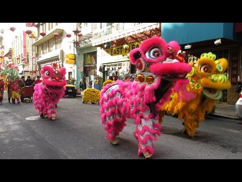 Chinese New Year Mini-Parade 2017 Chinatown San Francisco California