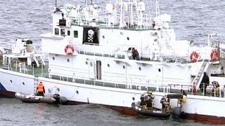 密輸阻止へ日ロ連携 1管とサハリン警備局、小樽沖で合同訓練(2016/06/01)北海道新聞