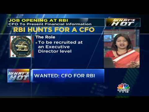 Wanted: A CFO for RBI
