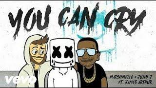 Marshmello x Juicy J - You Can Cry  (Ft. James Arthur) | With Lyrics | by Music Box