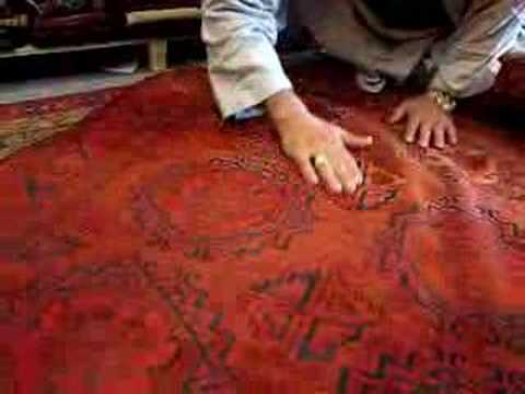 Buying A Good Quality Afghan Carpet Youtube