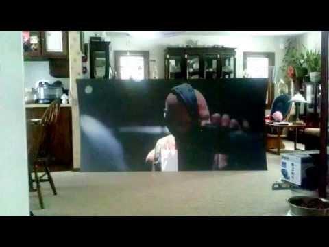 $35 DIY black projection screen VS daylight: Youtube optimized copy (1.5:1DeepOnyx)
