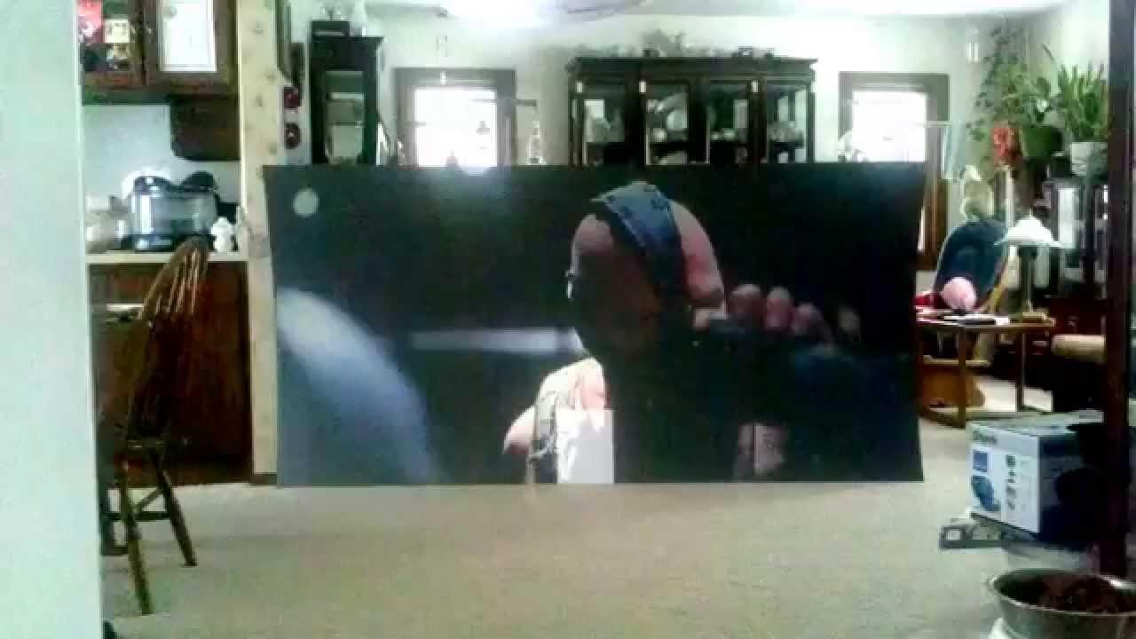 35 Diy Black Projection Screen Vs Daylight Youtube