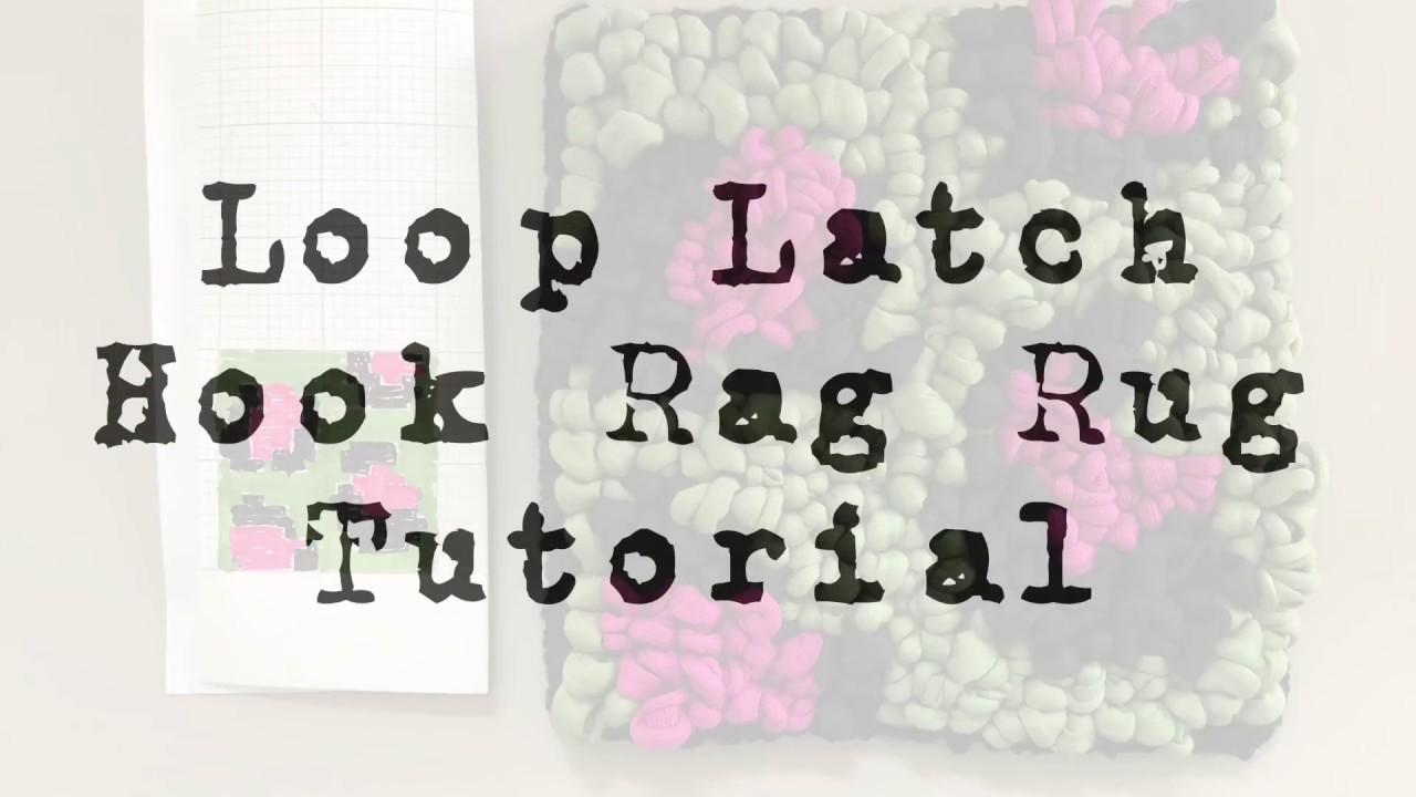 Latch Hook Rag Rug Tutorial You