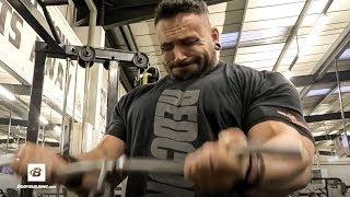 Killer Shoulder and Arm Workout | IFBB Pro Luke Sandoe