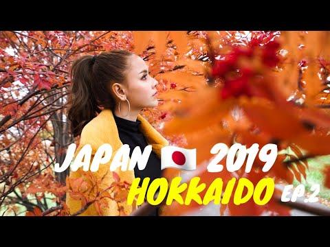 ขับรถเที่ยวญี่ปุ่นช่วงใบไม้เปลี่ยนสี เดือน ตุลาคม ฮอกไกโด Jozankei และ Furano สวยจิงๆจ่ะแม่จ๋า