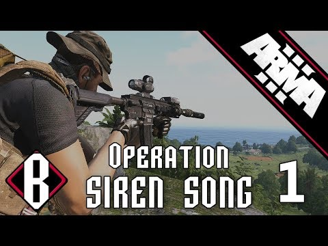 Operation Siren Song - Part 1: Stolen Vehicles and IEDs - ArmA 3 Milsim Gameplay