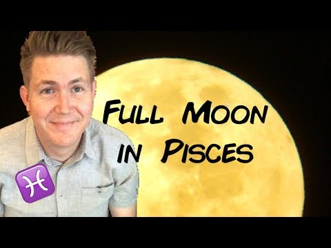 Full Moon In Pisces 26 August 2018 | Gregory Scott Astrology