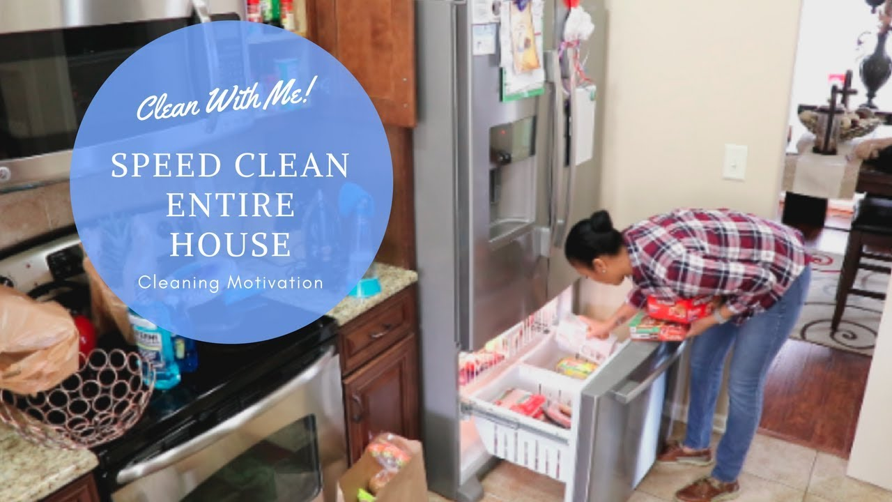 Clean With Me Sd Entire House Cleaning Motivation