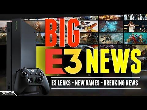 RDX: HUGE E3 2018 Leaks! New Xbox Tech, State Of Decay 2 Reviews, Sony E3 News, Xbox News, E3 2018