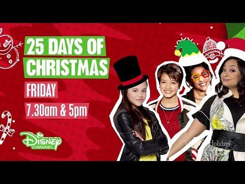 Disney Channel HD UK Christmas Advert 2017  25 Days of Christmas