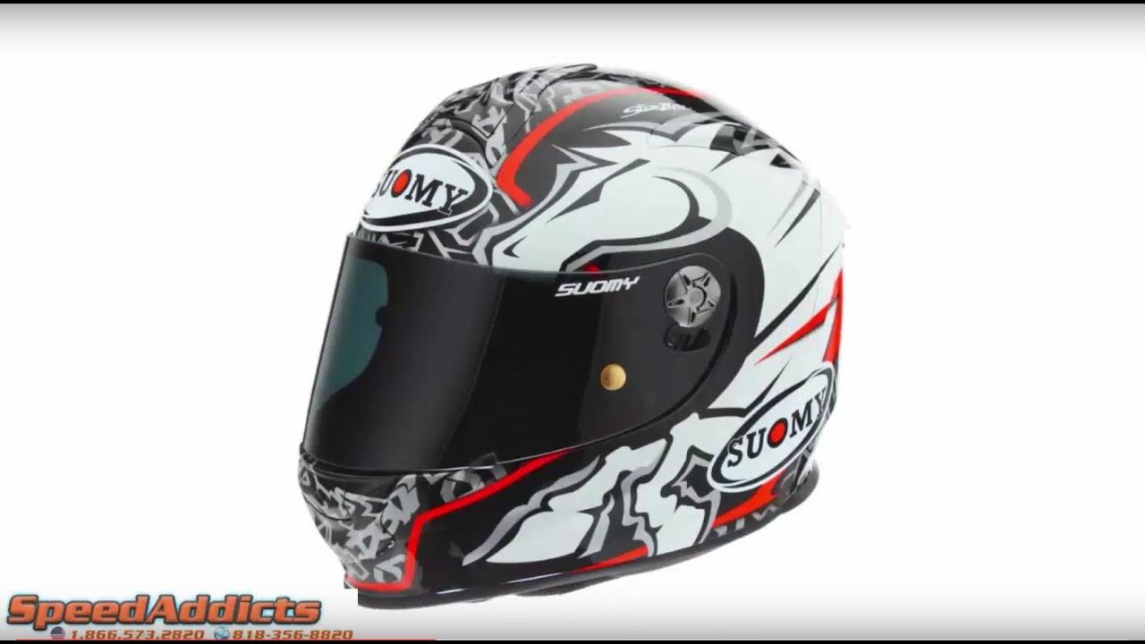 Suomy SR Sport Doivizioso Black Helmet at SpeedAddicts.com
