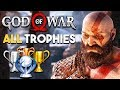 EVERY God of War PS4 Trophy (SPOILERS!)