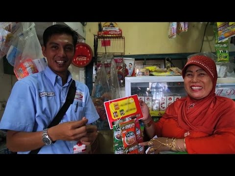 Sales persons on the go!: Indonesia