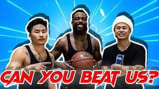 3v3 Basketball with @CashNasty & @Kenny Chao from 2HYPE! | FEMALE HOOPER TRIES TO FIGHT CASH!