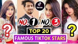 Top 20 Famous TikTok Stars Of India Top Indian Tiktok Girls & Boys Tik Tok Stars Name