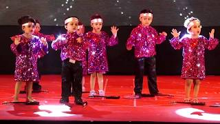 Disco Dance, Nursery H - 16th Annual Day - Witty World, Chikoowadi, Borivali (west)