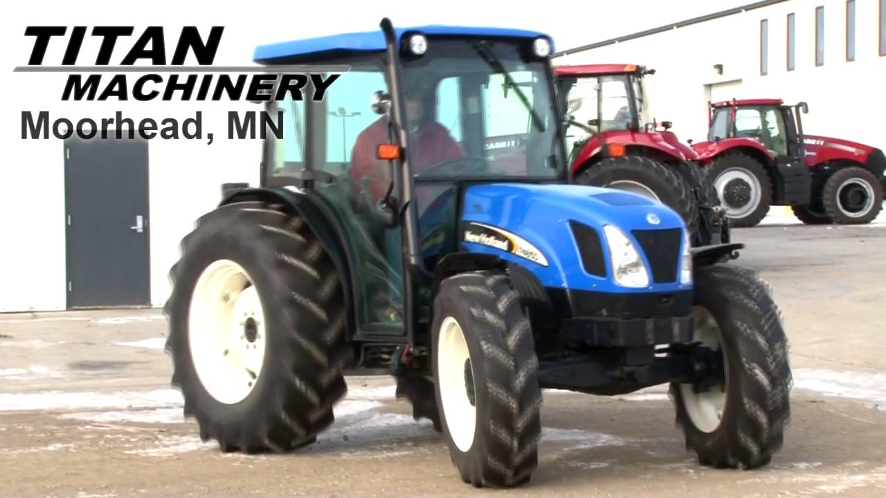 New Holland TN85DA Tractor Sold on ELS!
