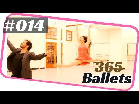 Ballet duet / Contemporary ballet pas de deux. 365 ballets -ballet 014